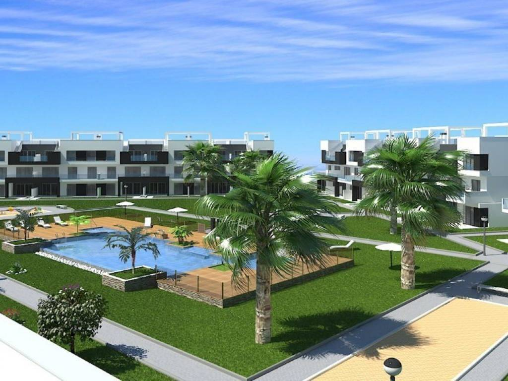 Fantastico residencial de apartamentos con piscina y for El jardin del eden alicante