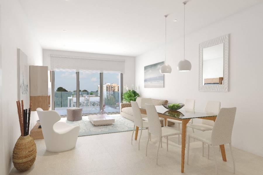 Verkauf - Dachgeschosswohnung - Playa del cura - Torrevieja